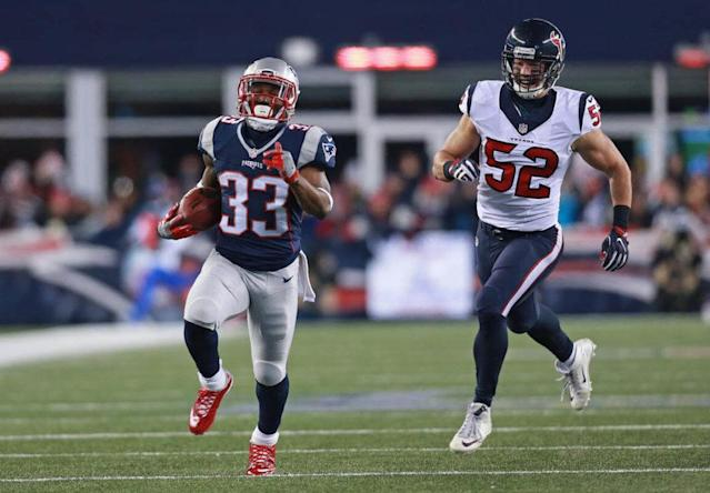 new england patriots, dion lewis