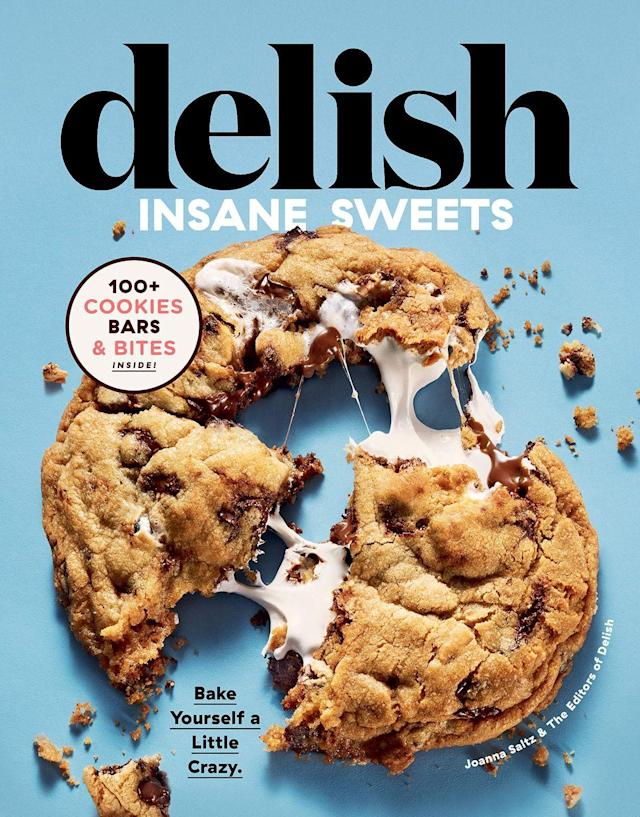 """<p>How could we not include this gem?! This book will be jam-packed with exciting ideas for sweet-treats with over 100 recipes. Put it in the calendar, 1 November 2019 ;). You seriously do not want to miss this.<br></p><p><a class=""""link rapid-noclick-resp"""" href=""""https://www.amazon.co.uk/Delish-Insane-Sweets-Yourself-Cookies/dp/0358193346/ref=sr_1_1?crid=2P3C4OISCKKM0&keywords=delish+insane+sweets&qid=1567180193&s=gateway&sprefix=delish+insan%2Caps%2C129&sr=8-1&tag=hearstuk-yahoo-21&ascsubtag=%5Bartid%7C2159.g.28871146%5Bsrc%7Cyahoo-uk"""" rel=""""nofollow noopener"""" target=""""_blank"""" data-ylk=""""slk:BUY NOW"""">BUY NOW</a><strong>Delish Insane Sweets, amazon.co.uk</strong></p>"""