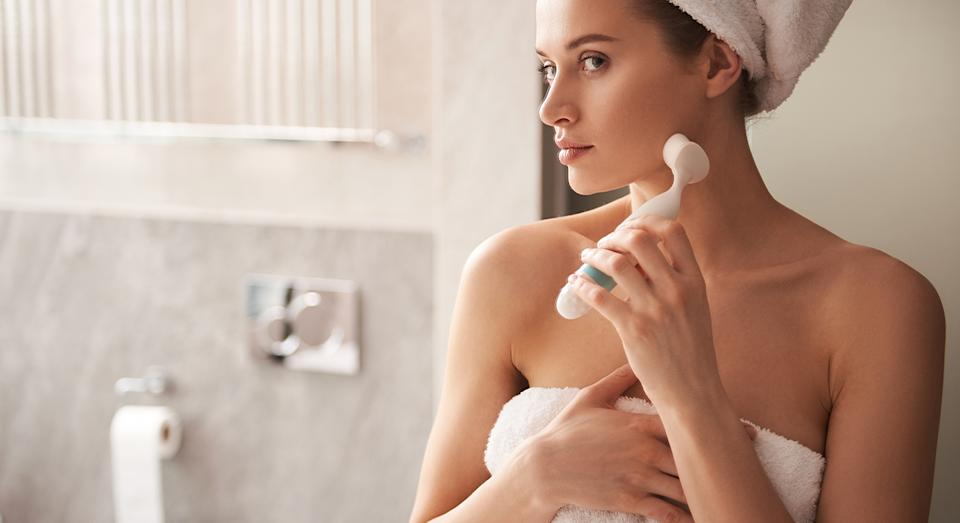 "Olay's Facial Brush has received glowing reviews from customers, with some hailing it a ""complete game changer"" for softer, blemish free skin. (Getty Images)"