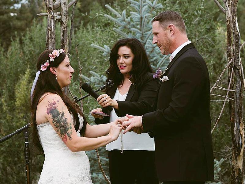 Colorado Bride's Dying Dog Carried Down Aisle at Her Wedding: 'He Had the Biggest Smile on His Face'| Wedding, Real People Stories