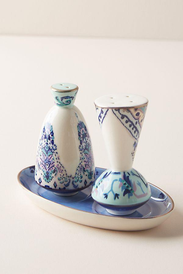 Lilia Salt and Pepper Shakers