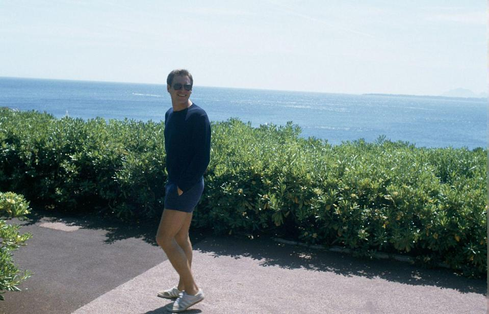 <p>Where can we get Ford's all-blue outfit—and Adidas sneakers—that he wore in Cannes, France? The actor clearly mastered the summer off-duty look as he traipsed around the South of France. </p>