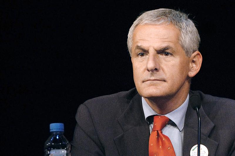 File photo taken on July 14, 2003 shows leading AIDS researcher Joep Lange in Paris (AFP Photo/Jean Ayissi)