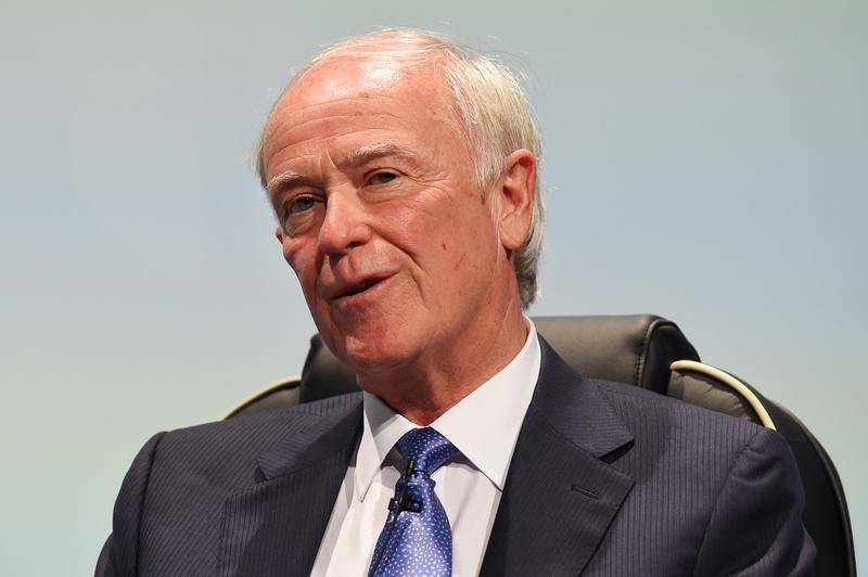 Sir Tim Clark, President of Emirates Airlines speaks at the 2016 International Air Transport Association (IATA) Annual General Meeting (AGM) and World Air Transport Summit in Dublin