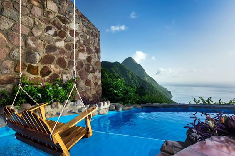 The hilltop dream suite at the Ladera Resort: Ladera Resort