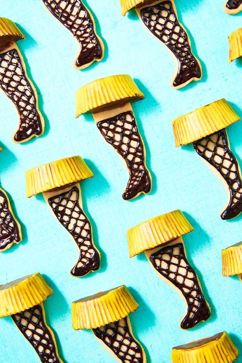 """<p>These leg lamp cookies are a major homage to an unforgettable Christmas Story. </p><p>Get the recipe from <a href=""""https://www.delish.com/cooking/recipes/a50435/leg-lamp-cookies-recipe/"""" rel=""""nofollow noopener"""" target=""""_blank"""" data-ylk=""""slk:Delish"""" class=""""link rapid-noclick-resp"""">Delish</a>.</p>"""