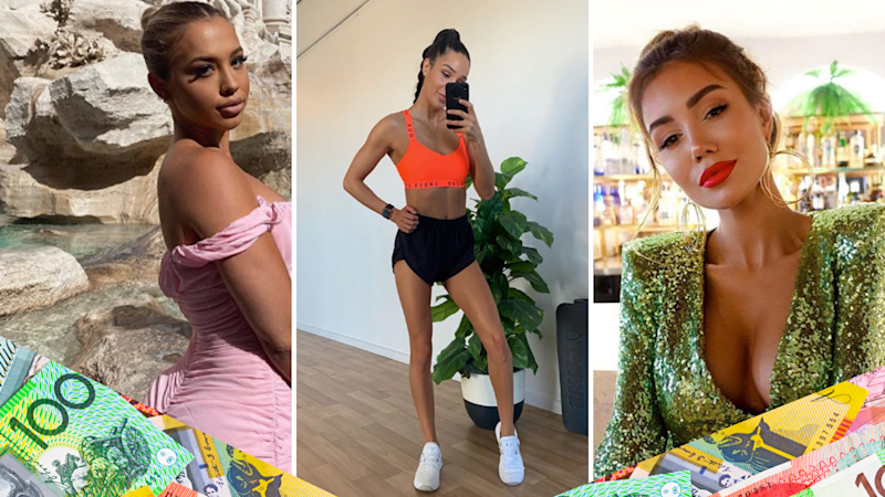 Pictured: Tammy Hembrow, Kayla Itsines and Pia Muehlenbeck. Images: Instagram, Getty