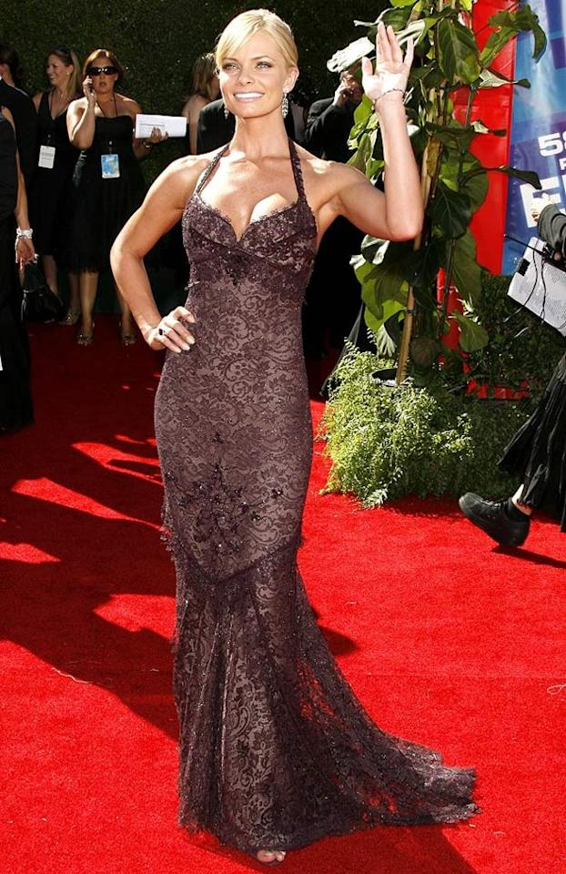 BEST: Jaime Pressly at the 58th Annual Primetime Emmy Awards in Los Angeles, California on August 27, 2006.