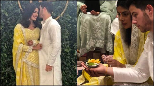 Priyanka Chopra and Nick Jonas are formally engaged now and the couple chose to wear Indian traditional attires for their big day.