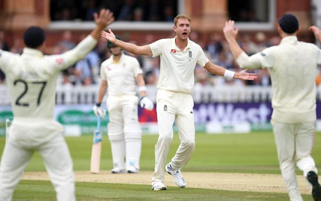 Stuart Broad believes England can force a result at Lord's despite the rain - Getty Images Europe