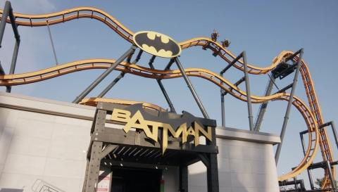 West Coast's First 4D Roller Coaster, Batman: The Ride Opens at Six Flags Discovery Kingdom