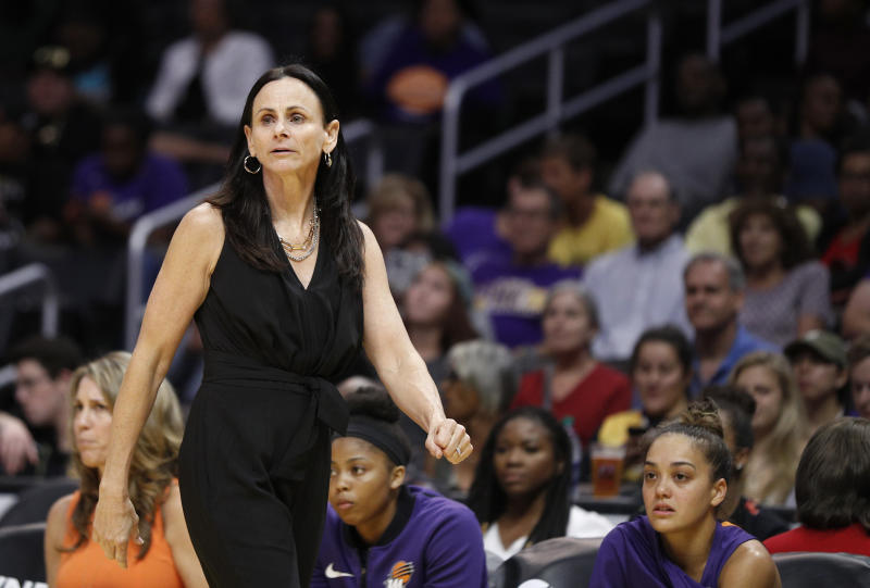 "Mercury coach Sandy Brondello and her husband, Sky assistant Olaf Lange, have opted to separate in the WNBA bubble to maintain ""professional integrity."""