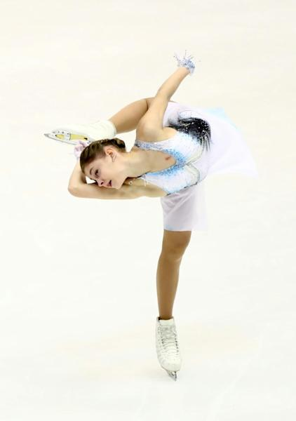 Russia's Alena Kostornaia snatched the lead after the short programme at the Grand Prix of Figure Skating 2019/2020 NHK Trophy in Sapporo