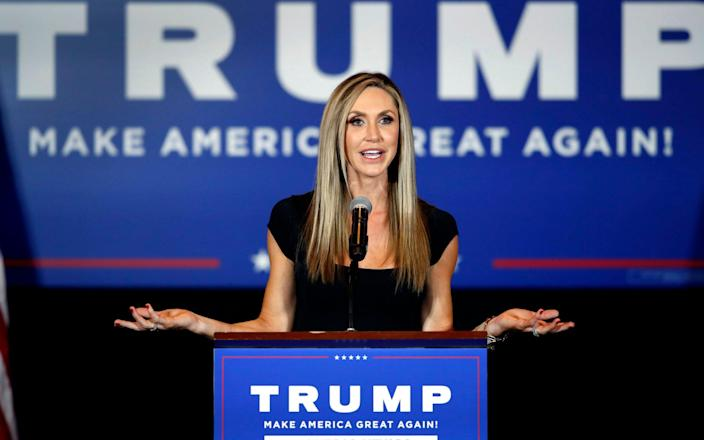 Lara Trump was a high-profile campaign surrogate for the Republican president - Steve Marcus /Las Vegas Sun