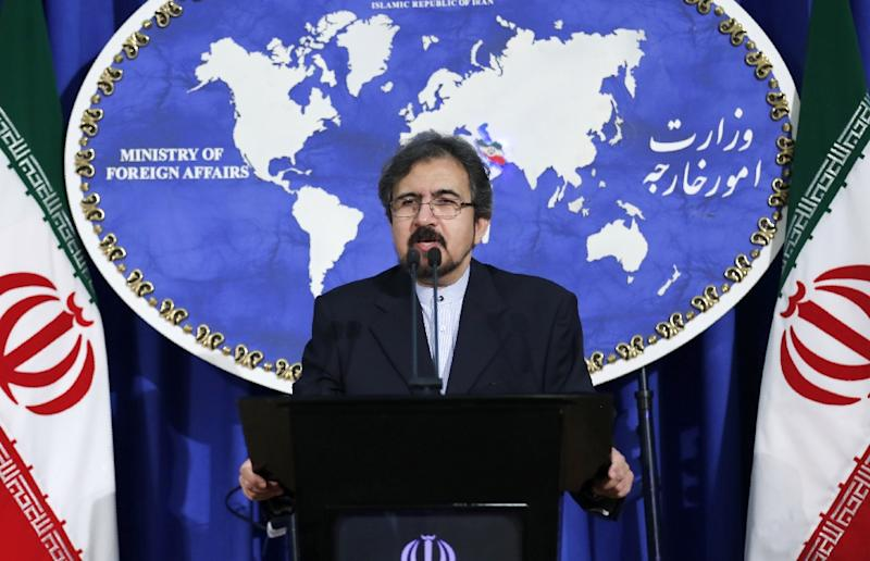 """Iran's strong objection has been communicated to Kuwait's charge d'affaires. It was reiterated that Iran reserves the right to a reciprocal measure,"" said foreign ministry spokesman Bahram Ghasemi"