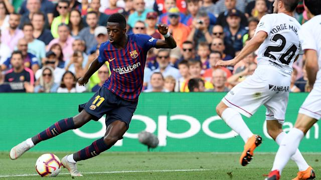 The young Frenchman struggled horribly to replace Neymar in his first season at Camp Nou but he has started the current campaign brilliantly