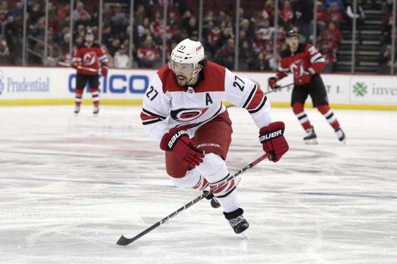 Blues acquire defenseman Justin Faulk in trade with 'Canes