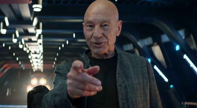 Patrick Stewart unveils first trailer for Star Trek: Picard at Comic-Con: Watch
