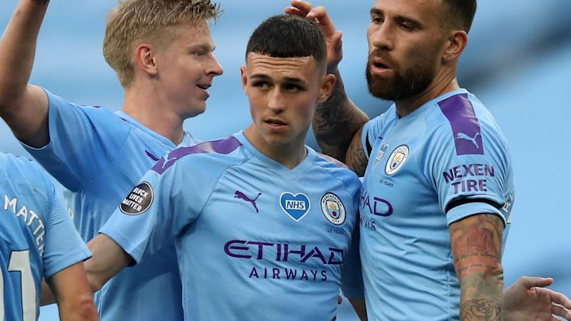 'I feel like I'll score with every chance' - Foden 'flying' for Man City since Premier League return