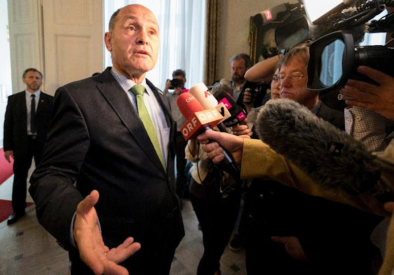 Austrian Interior Minister Wolfgang Sobotka said that the man, who lived in Vienna, had been under observation for several days and that he did not resist arrest (AFP Photo/JOE KLAMAR)