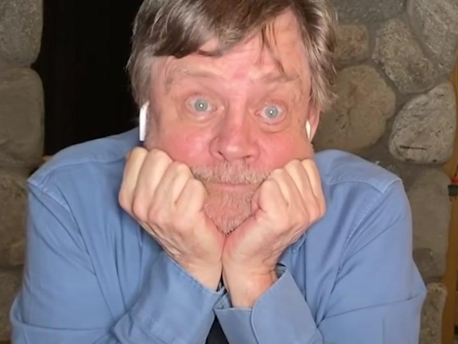 Mark Hamill in an ad for Joe Biden's campaign (YouTube/Joe Biden)