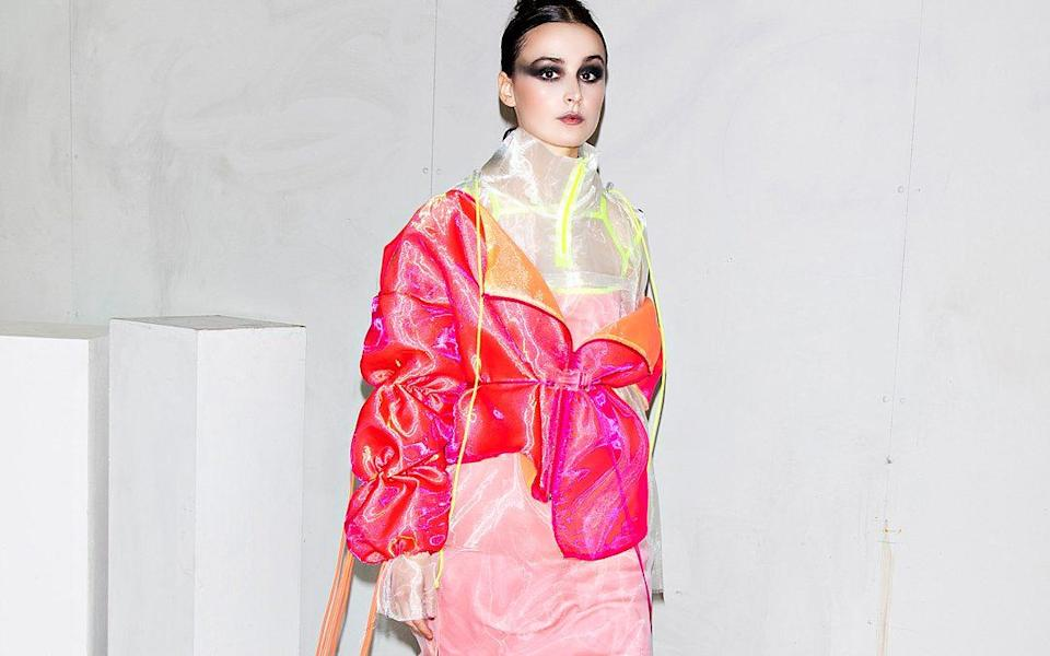 The graduating collection by Anya Sims, Norwich University of the Arts