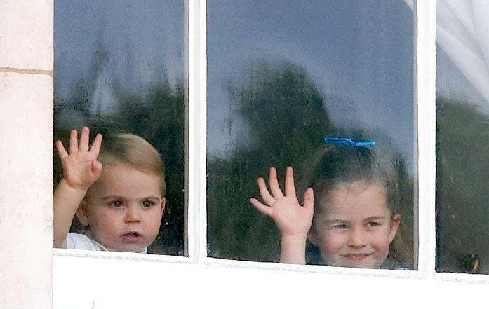 <p>The middle and youngest child waved at the crowds gathered for Trooping The Colour 2019 from the window of Buckingham Palace.</p>