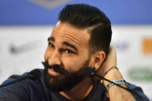 Adil Rami will play as Number 23 for Russia's Sochi club (AFP Photo/YURI CORTEZ)
