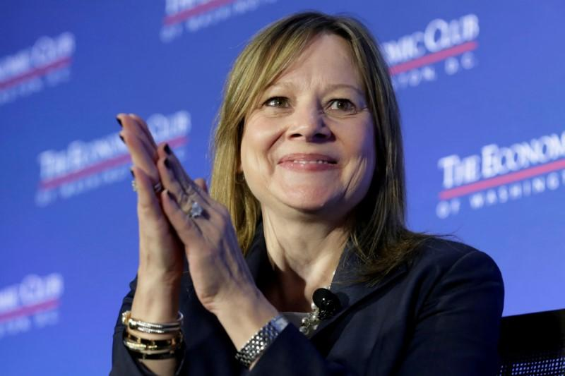 Mary Barra, chairwoman and CEO of General Motors, discusses the future of the auto industry