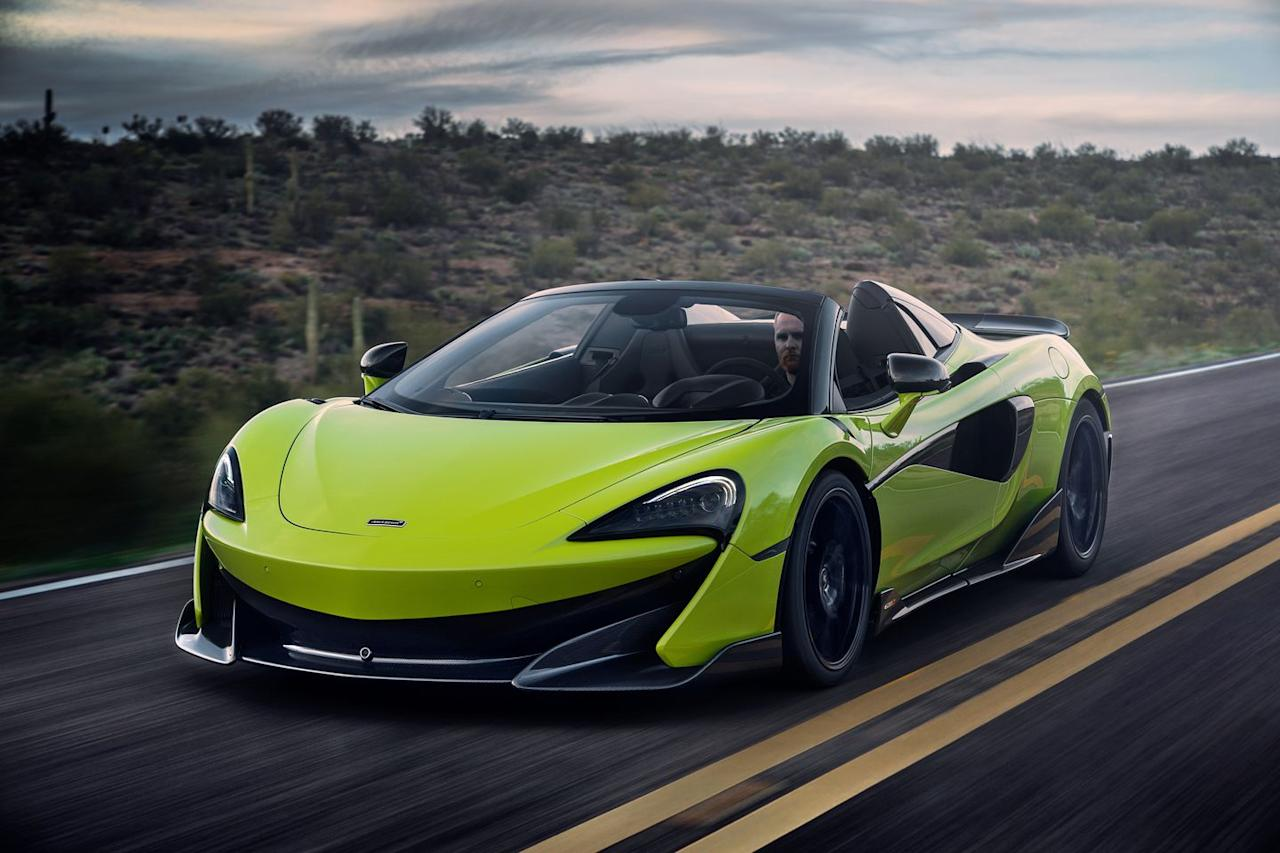 Detailed Photos Of The 2020 Mclaren 600lt Spider