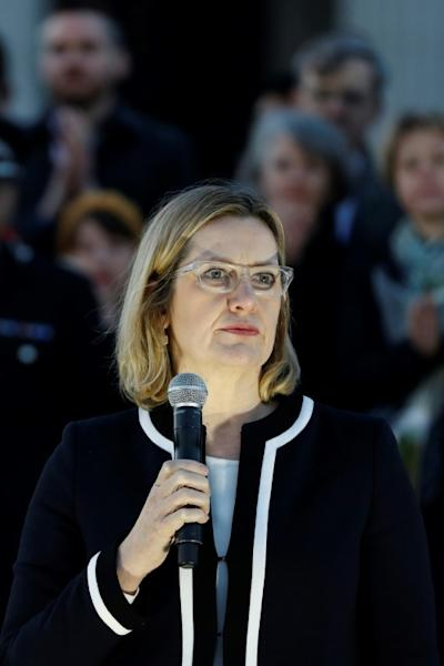 """Home Secretary Amber Rudd said it was """"completely unacceptable"""" that police and security services had not been able to crack the heavily-encrypted service WhatsApp"""