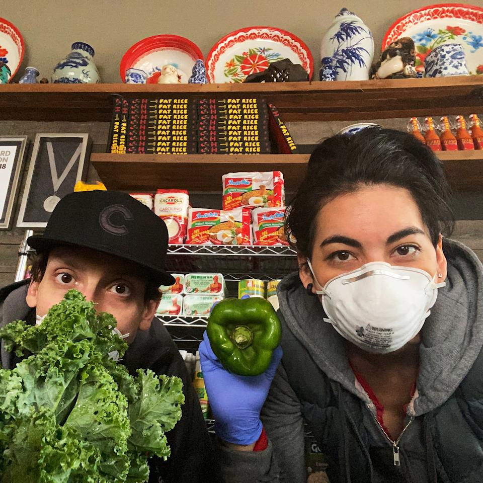 "<h1 class=""title"">Fat-Rice-Resto-Diaries-COVID-19-Inline.jpg</h1><div class=""caption"">Abe Conlon and Adrienne Lo pivoted their restaurant, Fat Rice in Chicago, into a market and relief kitchen.</div>"