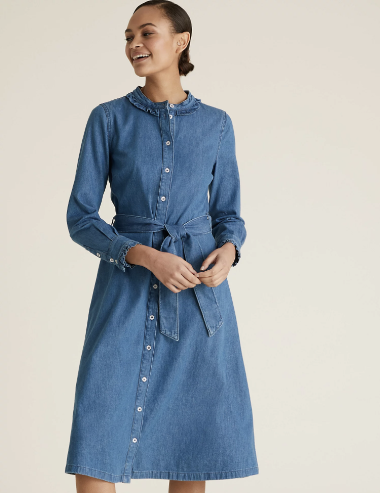 The perfect summer dress is selling fast. (Marks & Spencer)