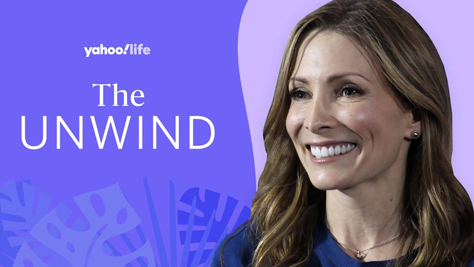 Retired gymnast Shannon Miller on mental health, surviving ovarian cancer and her Olympic memories. (Photo: Getty; designed by Quinn Lemmers)