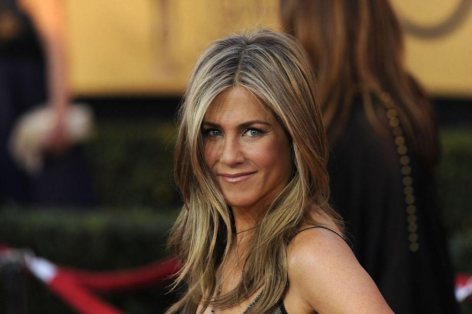 """<p>Aniston keeps it real and lets us known that Pitt actually never did anything wrong when they were together. """"We're not in daily communication,"""" she said to the<em><a href=""""https://www.hollywoodreporter.com/features/jennifer-aniston-reveals-struggles-dyslexia-764854"""" rel=""""nofollow noopener"""" target=""""_blank"""" data-ylk=""""slk:Hollywood Reporter"""" class=""""link rapid-noclick-resp""""> Hollywood Reporter</a>.</em> """"But we wish nothing but wonderful things for each other. Nobody did anything wrong. You know what I mean? It was just, like, sometimes things [happen]. If the world only could just stop with the stupid, soap-opera bullshit. There's no story.""""</p>"""
