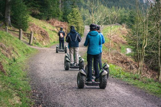 You can book segway tours around the UK (Getty Images)