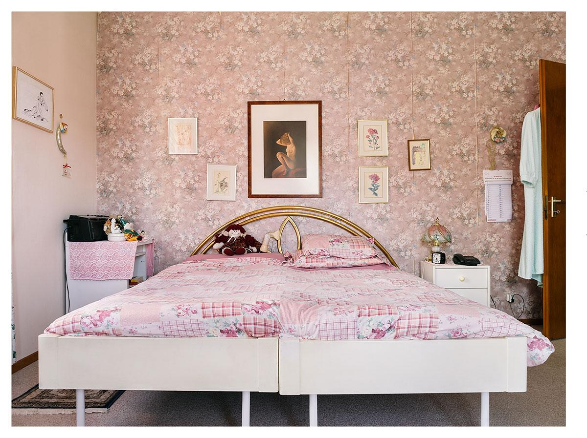 <p>A shot of a pastel pink bedroom won Sabin Cattaneo the top prize in the conceptual category. (Sabine Cattaneo) </p>