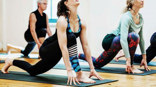 PHOTO: A stock photo of women doing yoga. (STOCK PHOTO/Getty Images)