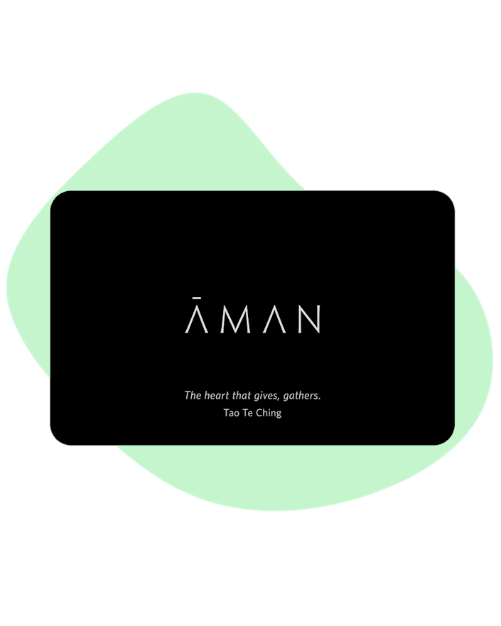 """The Aman Resorts chain is one of the premiere luxury hotel chains in the world, with 32 destinations in 20 countries. Trust us, a gift card here is worth its weight in gold— and mom might even be inspired to bring you with her. $500, Aman. <a href=""""https://www.aman.com/gift-cards/aman"""" rel=""""nofollow noopener"""" target=""""_blank"""" data-ylk=""""slk:Get it now!"""" class=""""link rapid-noclick-resp"""">Get it now!</a>"""