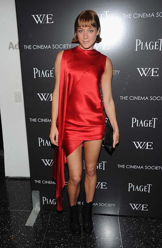 "Chloe Sevigny at the New York screening of <a href=""http://movies.yahoo.com/movie/1810159454/info"">War Horse</a> on December 4, 2011."