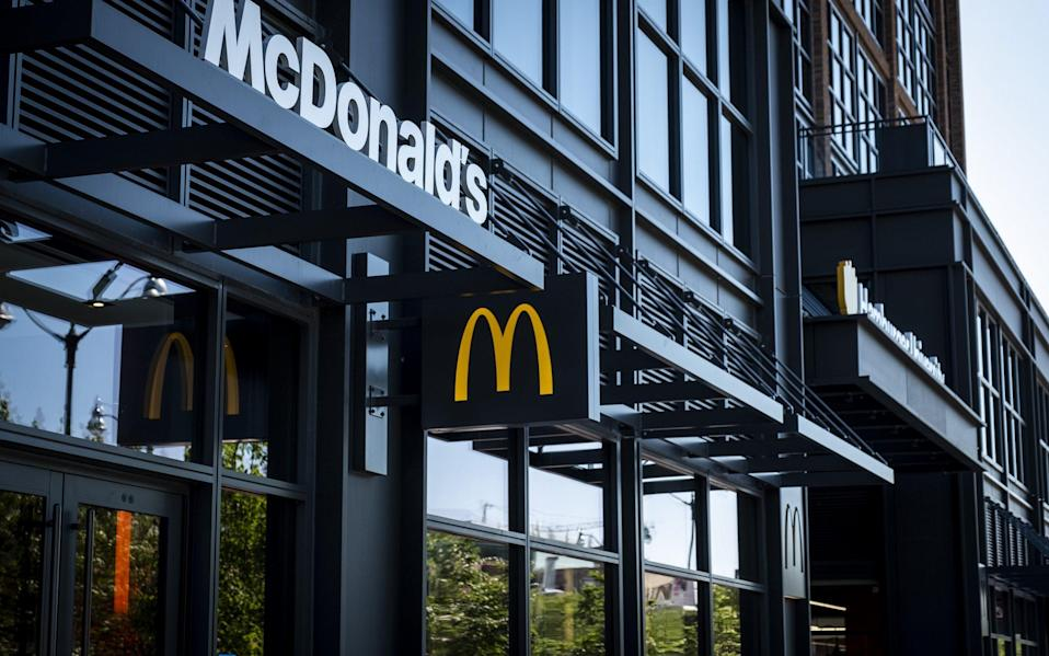 McDonald's - Christopher Dilts/Bloomberg