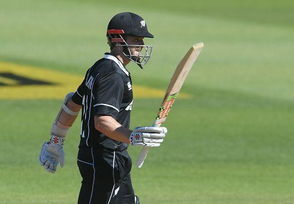 Williamson made 64 runs from 81 balls in the series opener against India