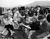 <p>After venturing to New York City at the age of 15, Lucille Ball made a name for herself as an actress and comedian. During her time shooting her iconic TV show, <em>I Love Lucy, </em>and paving the way for female film executives, Lucille spent many days on sets. See some of the private behind-the-scenes moments from her career, from filming scenes with her husband to reading scripts as a studio head.</p>