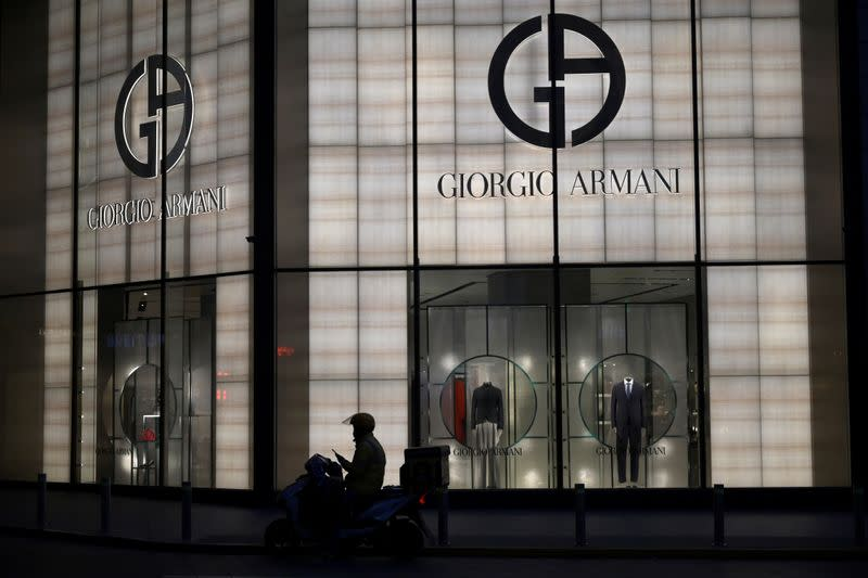 Italy's Armani returned to sales growth in 2019