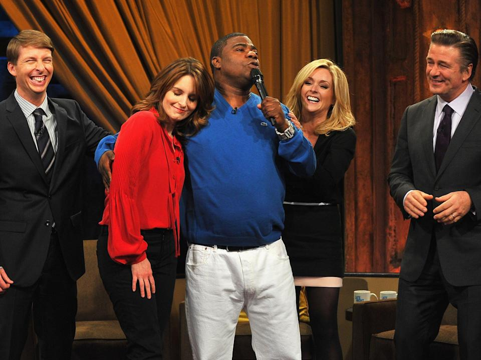 The cast of 30 Rock visits Late Night With Jimmy FallonGetty Images