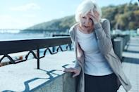 Feeling dizzy? This seemingly innocuous symptom could be a sign that you're having a heart attack. In the same <em>JAMA </em>study, approximately 24 percent of male patients and 27 percent of female patients reported dizziness as one of the heart blockage-related symptoms they experienced.
