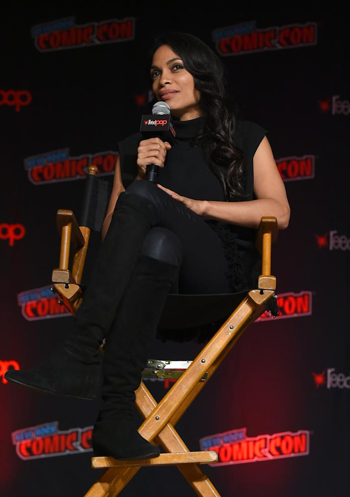 Rosario Dawson discusses