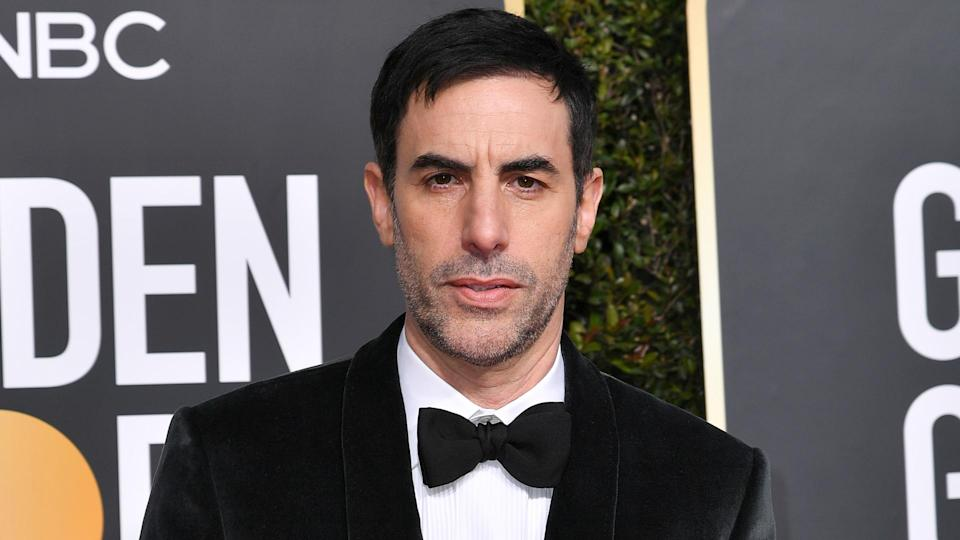 Sacha Baron Cohen Golden Globe nomination The Spy