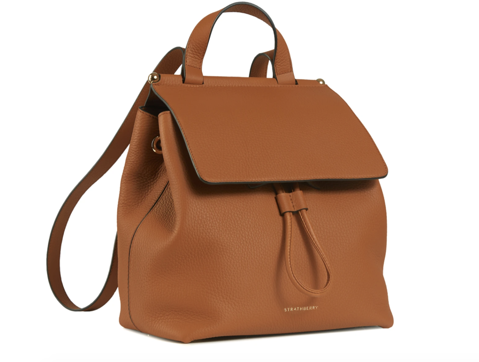 Strathberry backpack, £455. PHOTO: Strathberry