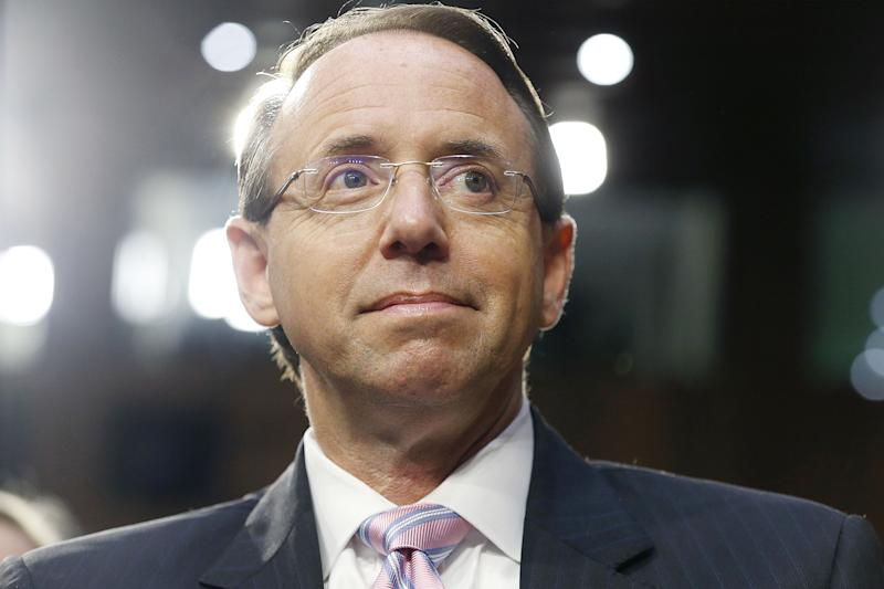 Justice Department Issues Technical >> A Rosenstein Departure S New Conflict Of Interest Issues